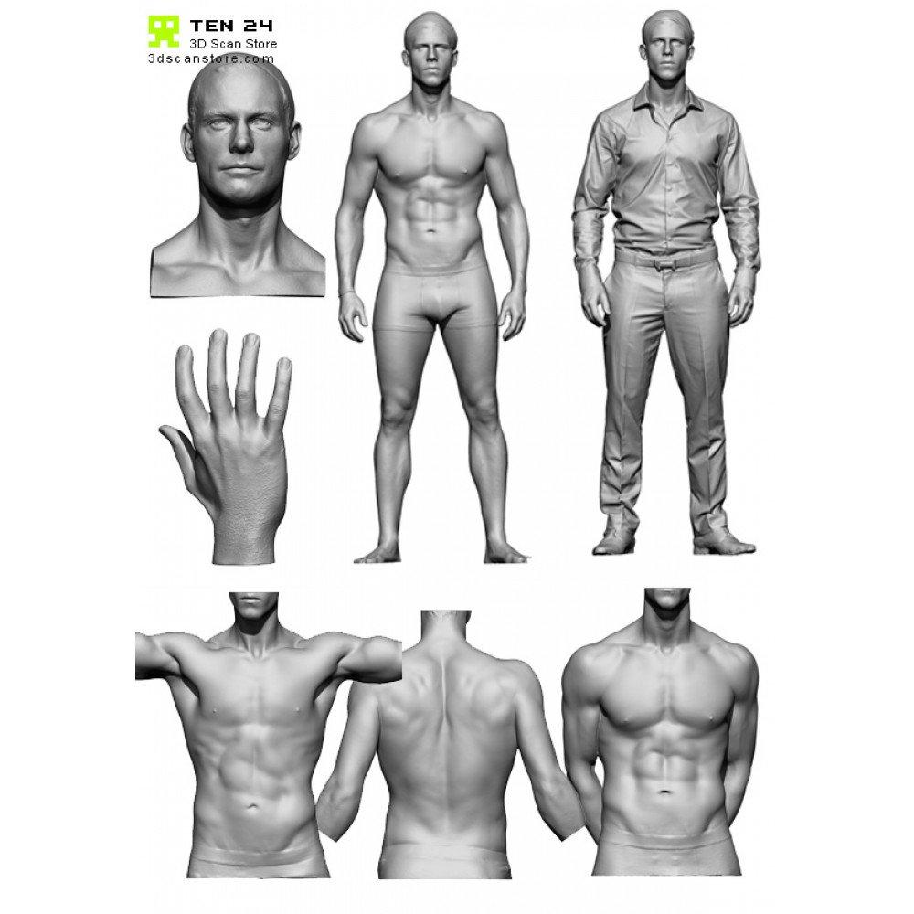 Male Anatomy Bundle 01