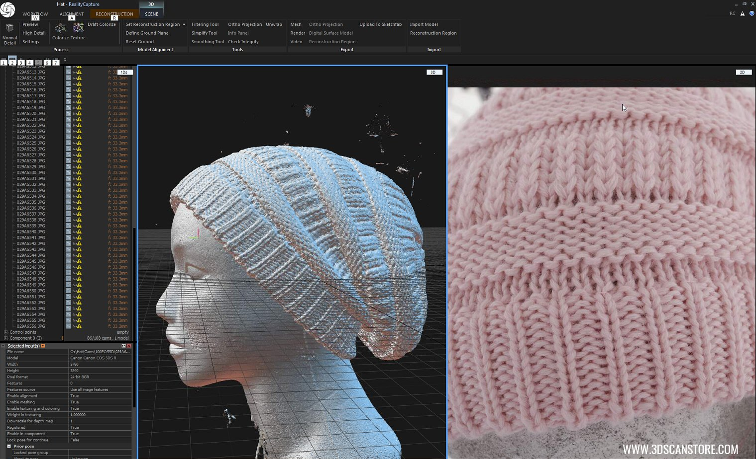 3D Scan to Render Workflow Time-lapse