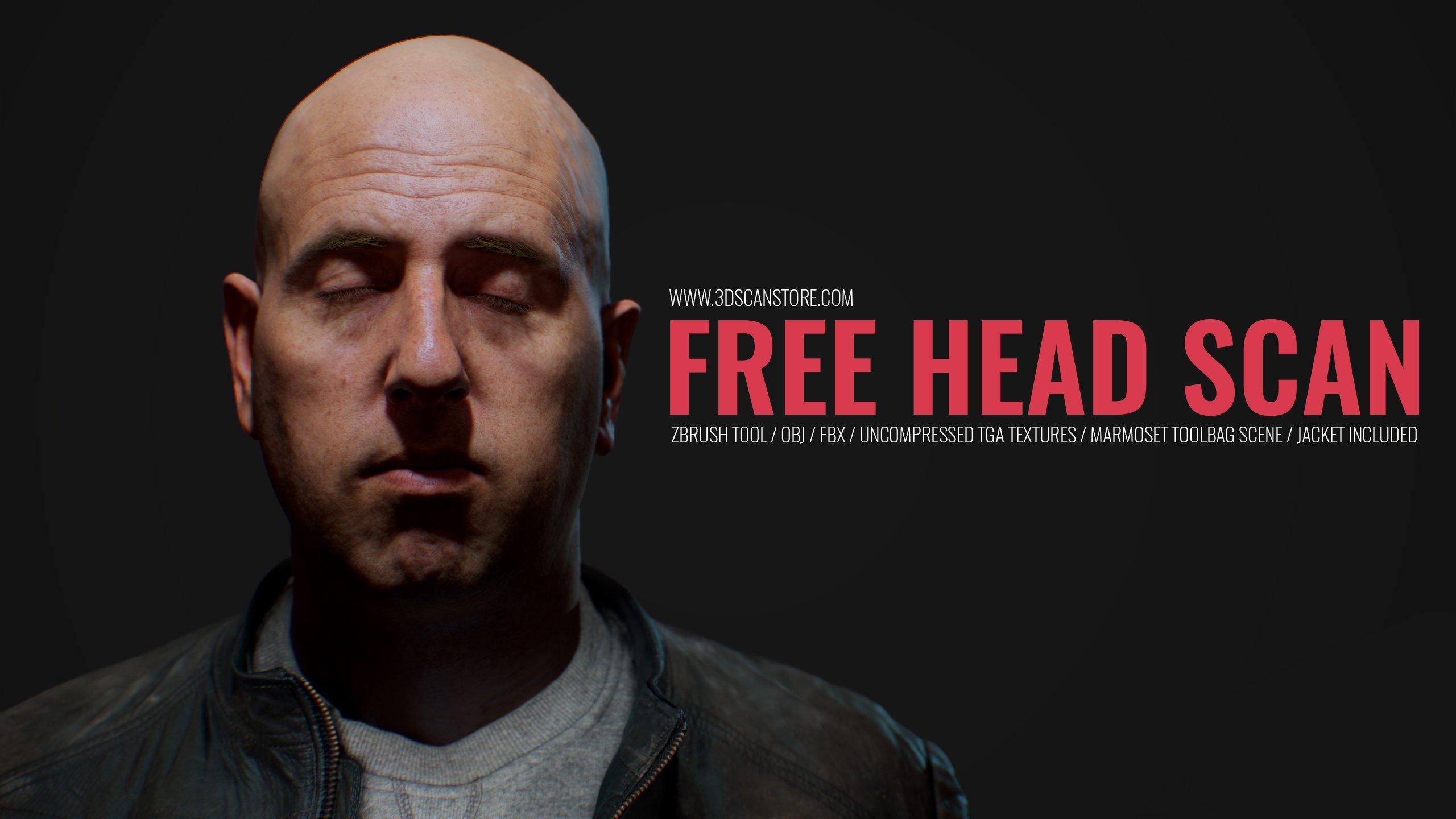 Free 3D Head Model