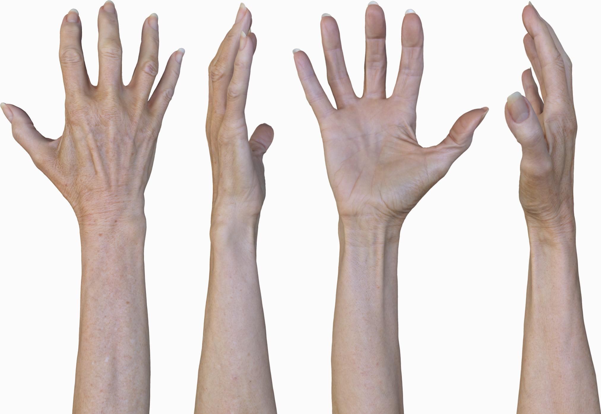 Hand Texture maps