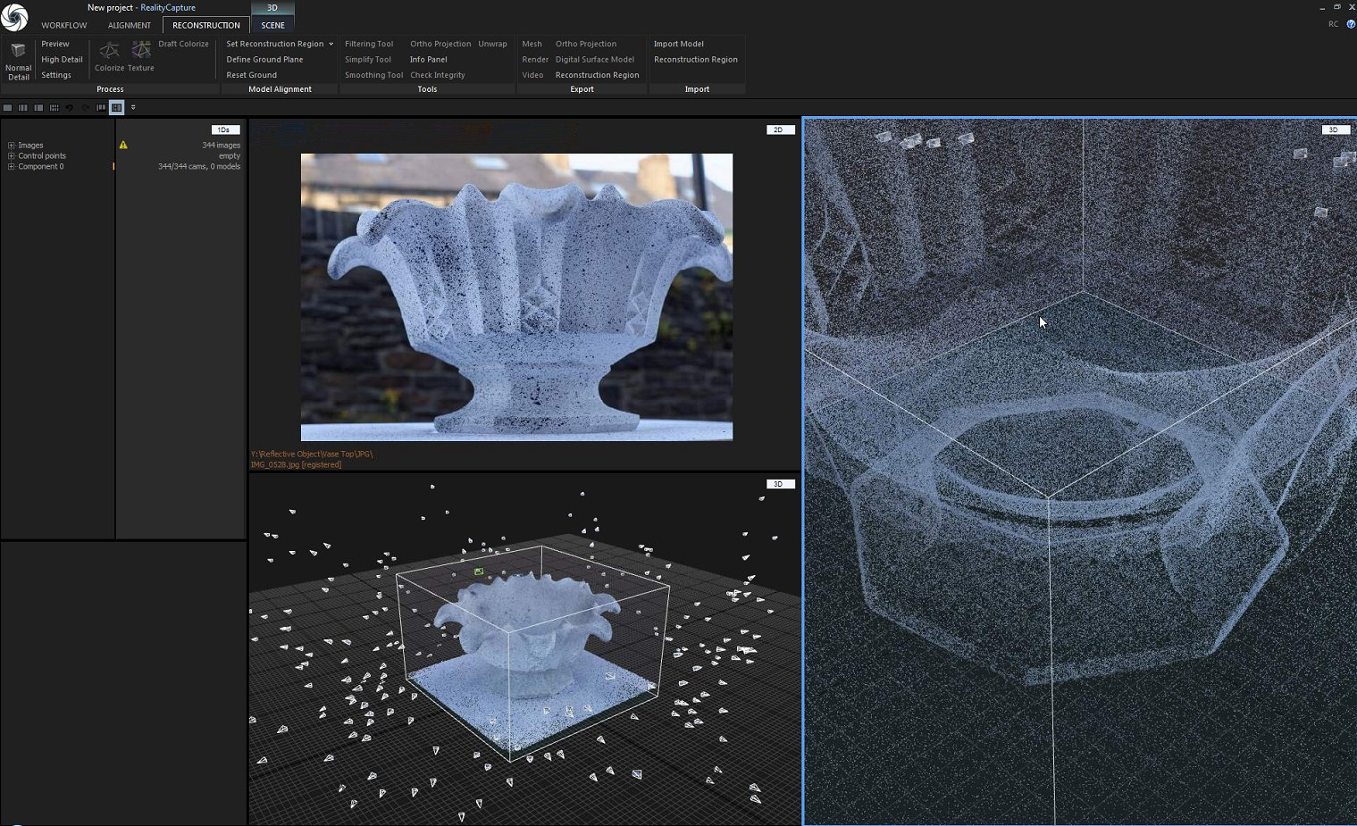 3D Scanning Reflective Objects With Photogrammetry