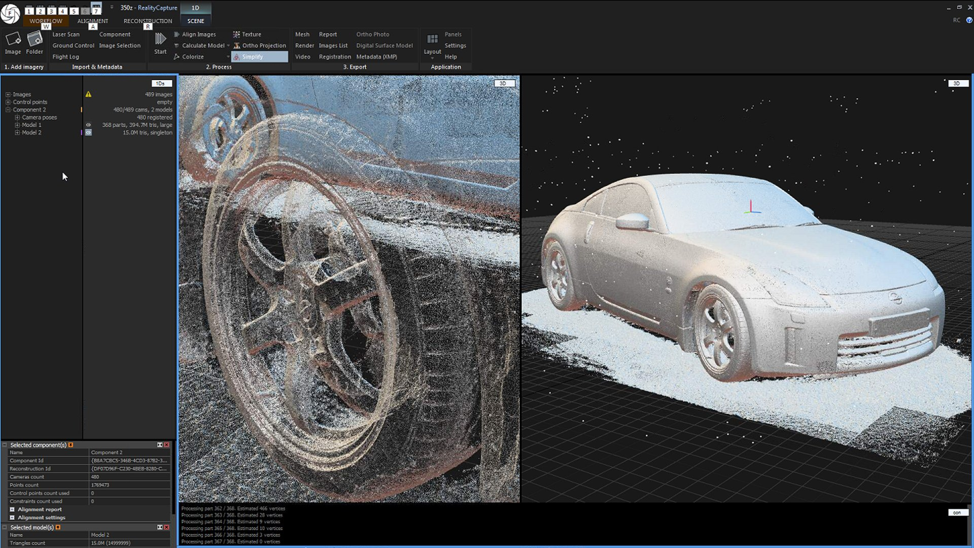 3D Scanning Cars With Photogrammetry