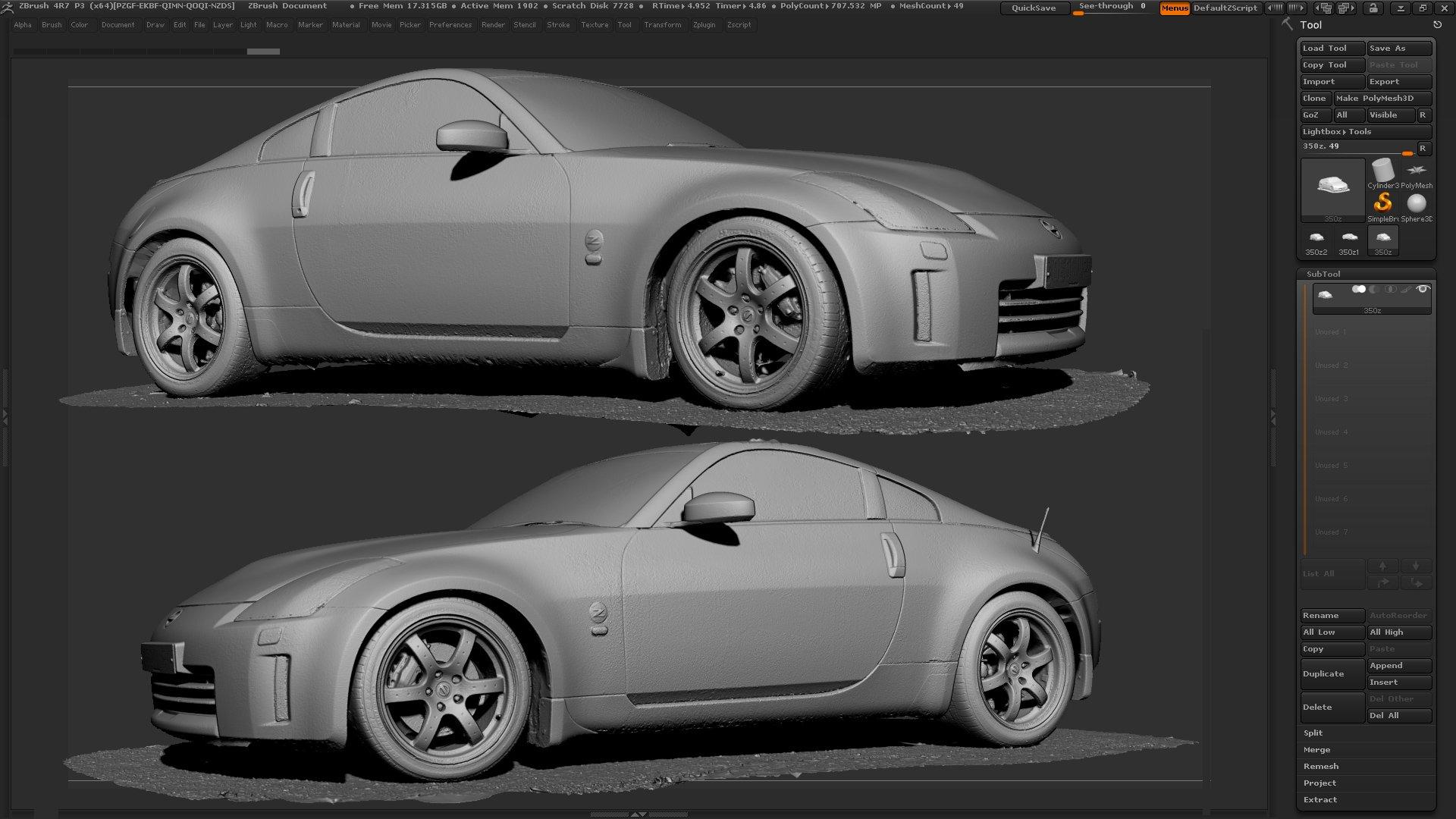 3d scanning cars with photogrammetry. Black Bedroom Furniture Sets. Home Design Ideas