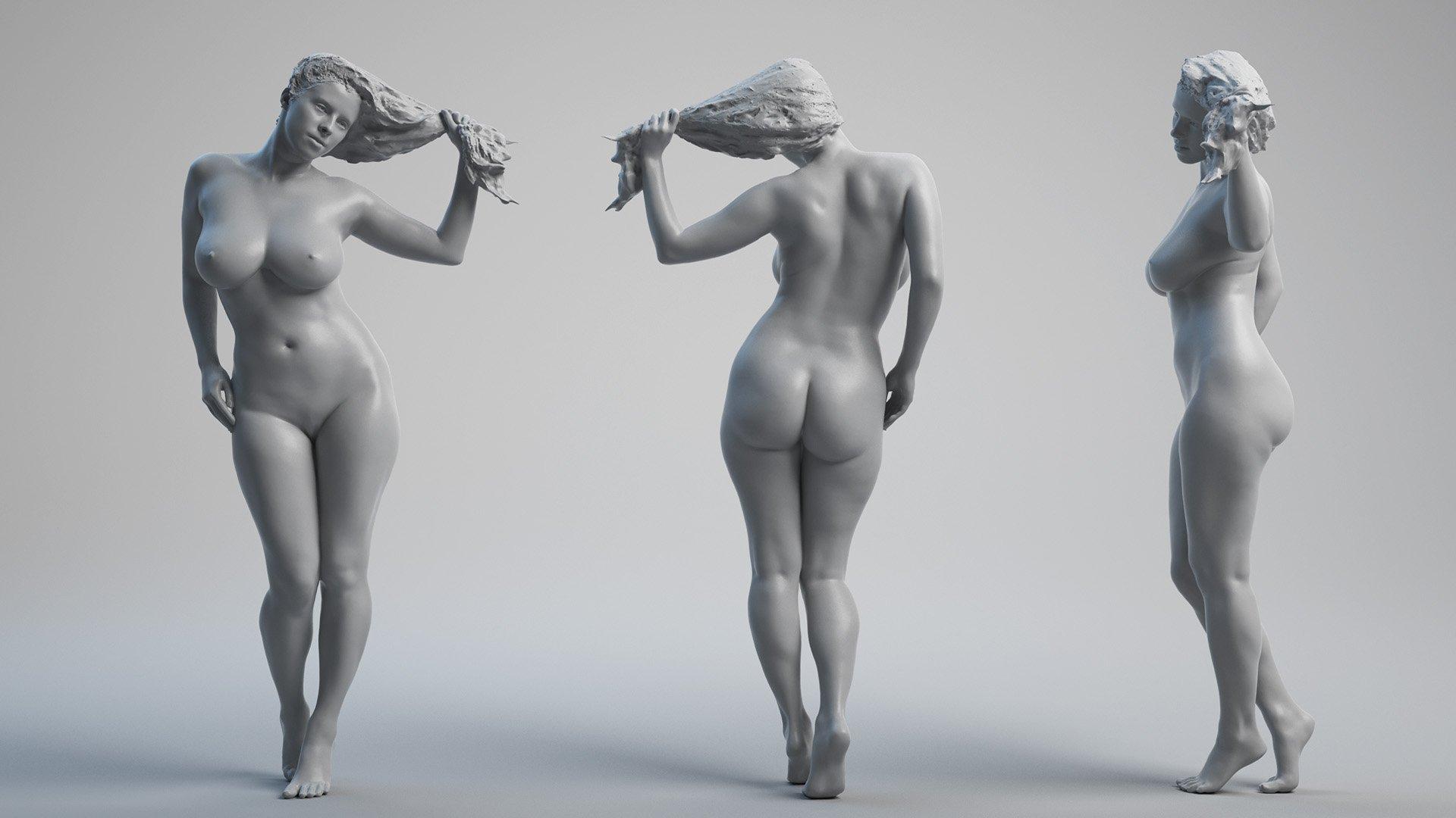 Group Of Guys Posing Nude