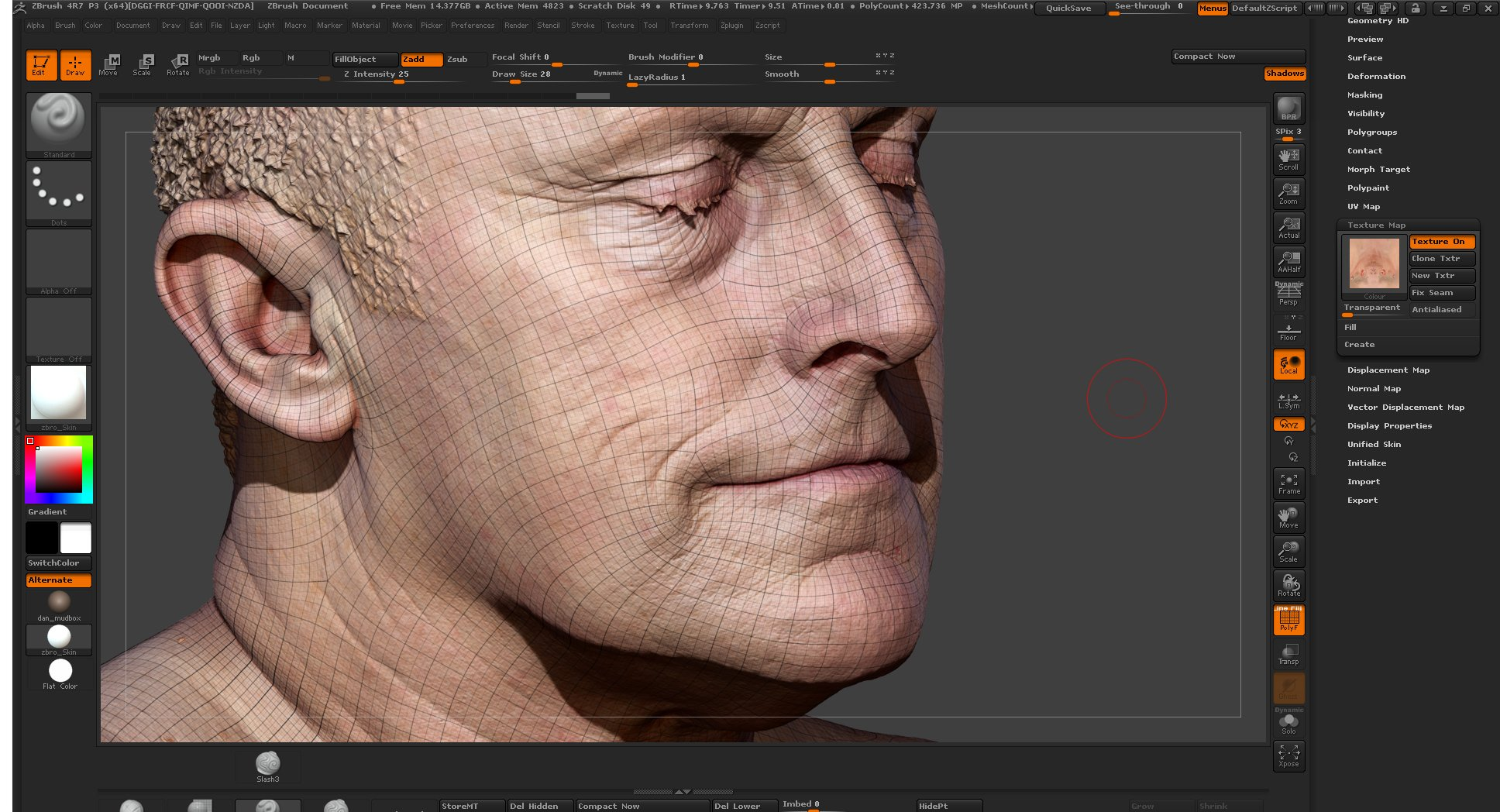 Free Blender Skin shader   3dscanstore com