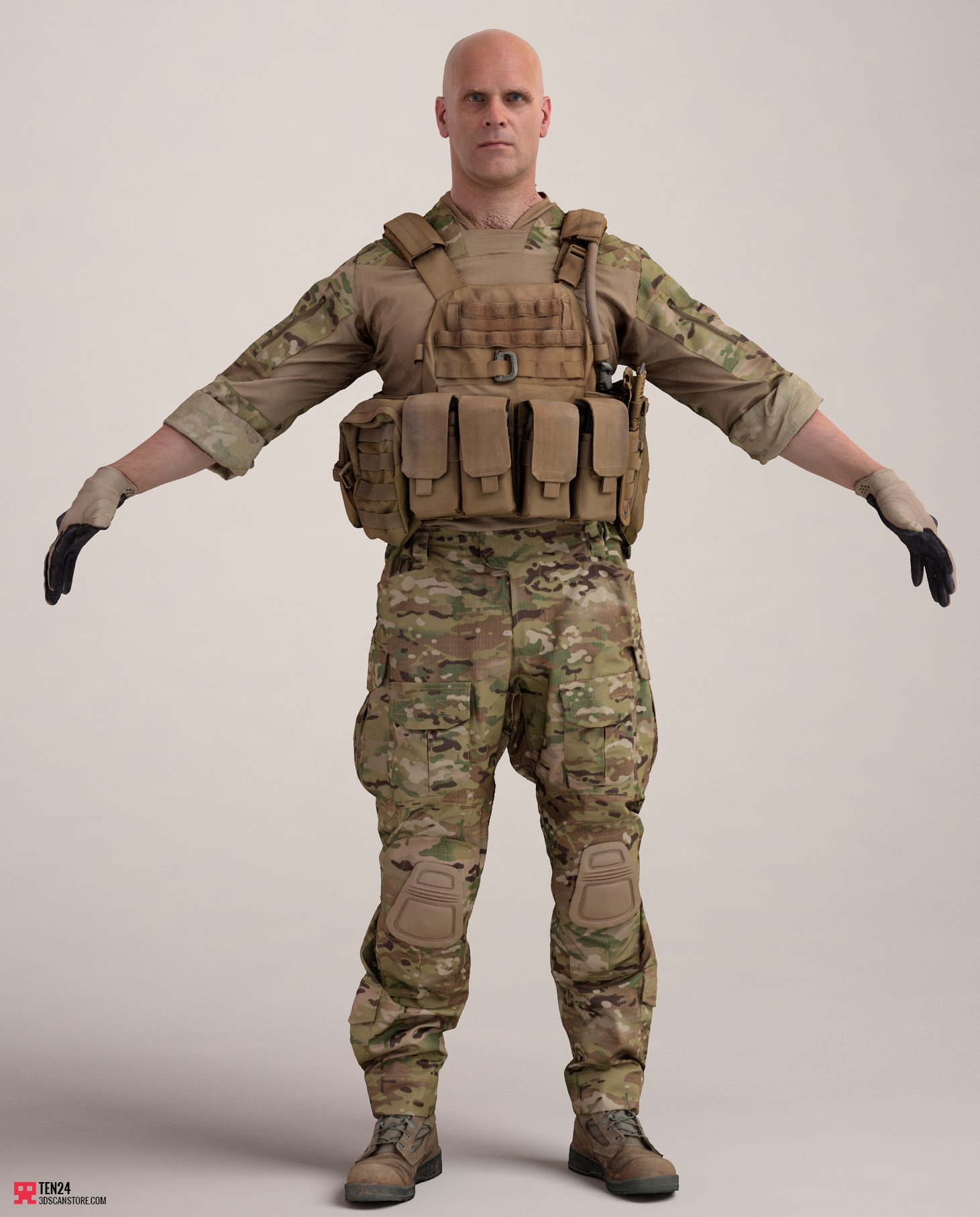 Military: MTP Reference A Pose Bags